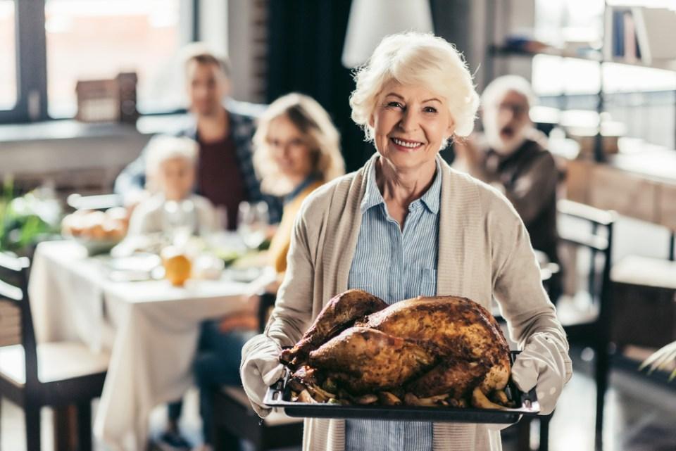 Elderly Thanksgiving