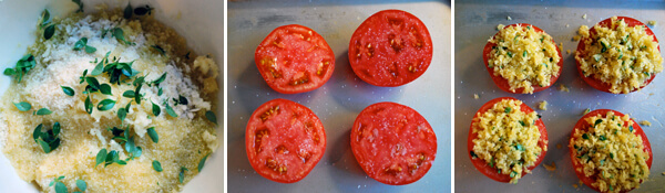 Provencal Tomatoes Detail