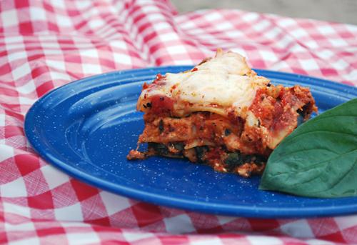Dutch Oven Recipes: Campfire Lasagna by FamilySpice.com
