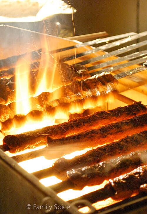 Making Persian Ground Beef Kabob (kabob-e koobideh) by FamilySpice.com