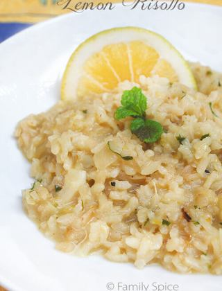 Daring Cooks: Lemon Risotto