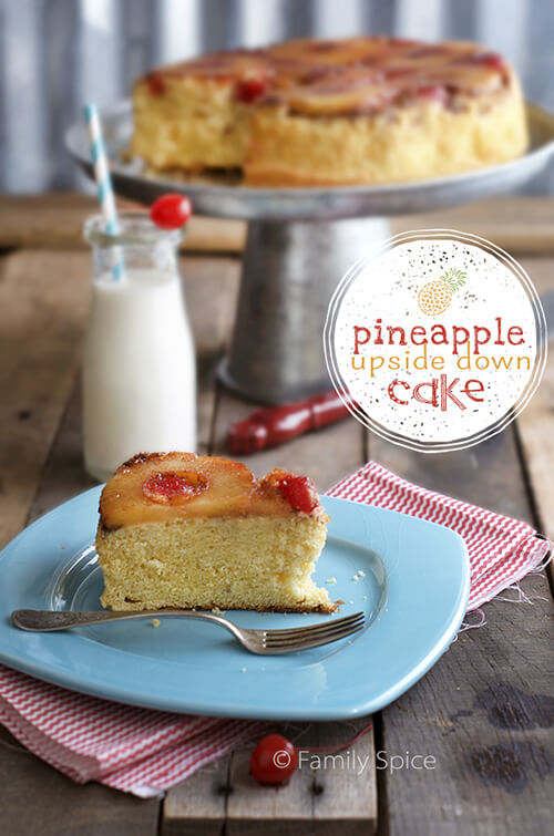 Perfect for Camping: Dutch Oven Pineapple Upside Down Cake by FamilySpice.com