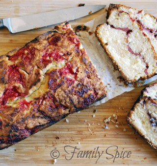 Berry Swirl Pound Cake