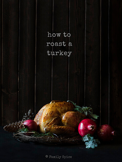 Don't panic if you have everyone coming over this Thanksgiving. With these easy instructions and a meat thermometer, you can easily serve the perfect roast turkey. - by FamilySpice.com