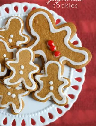 25 Days of Cookies: A Must-Have Gingerbread Cookie
