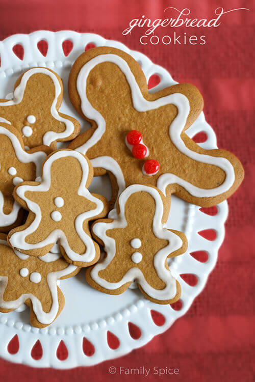 A holiday classic: Gingerbread Cookies by FamilySpice.com