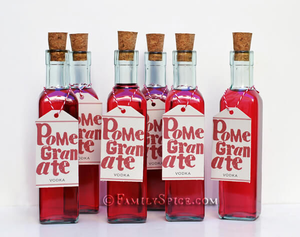Pomegranate Infused Vodka