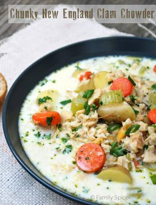 Chunky New England Clam Chowder