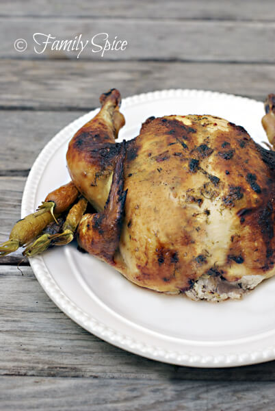 Easy Meal: Roast Chicken with Simple Butter & Herbs