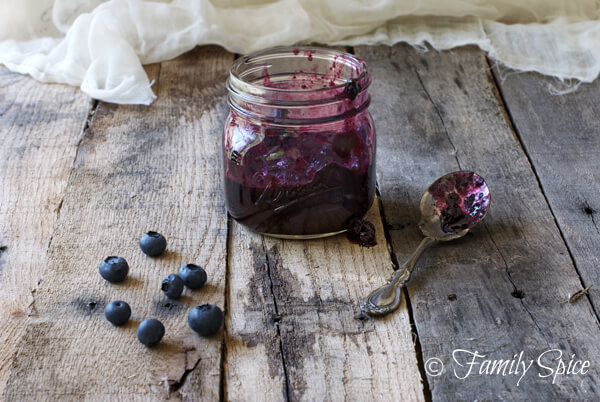 Blueberry Jam with Brown Sugar by FamilySpice.com
