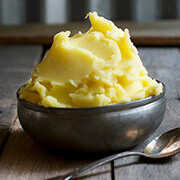 Saffron Mashed Potatoes by FamilySpice.com