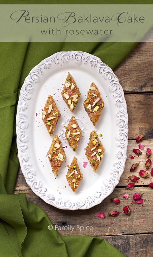 Persian Baklava Cake Recipe