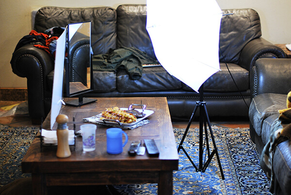 Food Photography Tips on a Budget: Simple Set Up