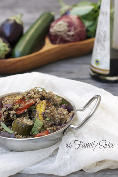 Food Photography Tips on a Budget: Balsamic Quinoa After