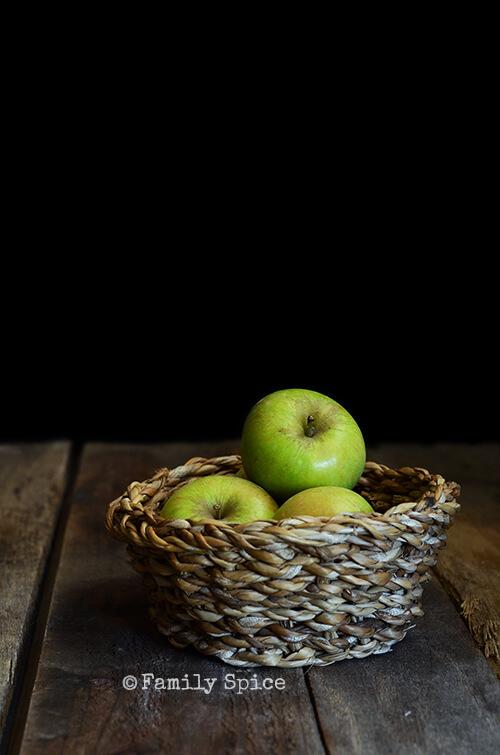 Heirloom Apples for Caramel Apple Bundt Cake by FamilySpice.com