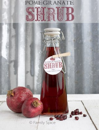 Homemade Holiday Gift Idea: Pomegranate Shrub