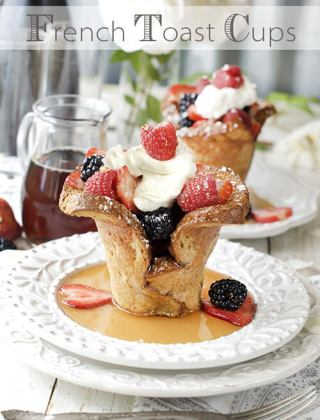 Baked French Toast Cups