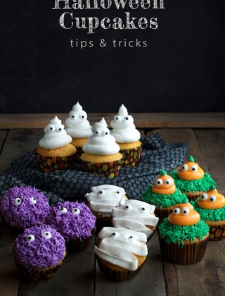 Tips and Tricks for Halloween Cupcakes