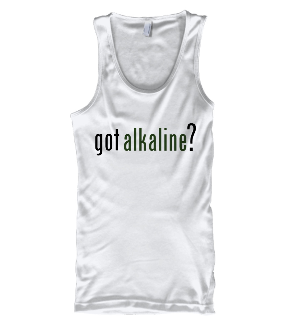 got alkaline? tank top