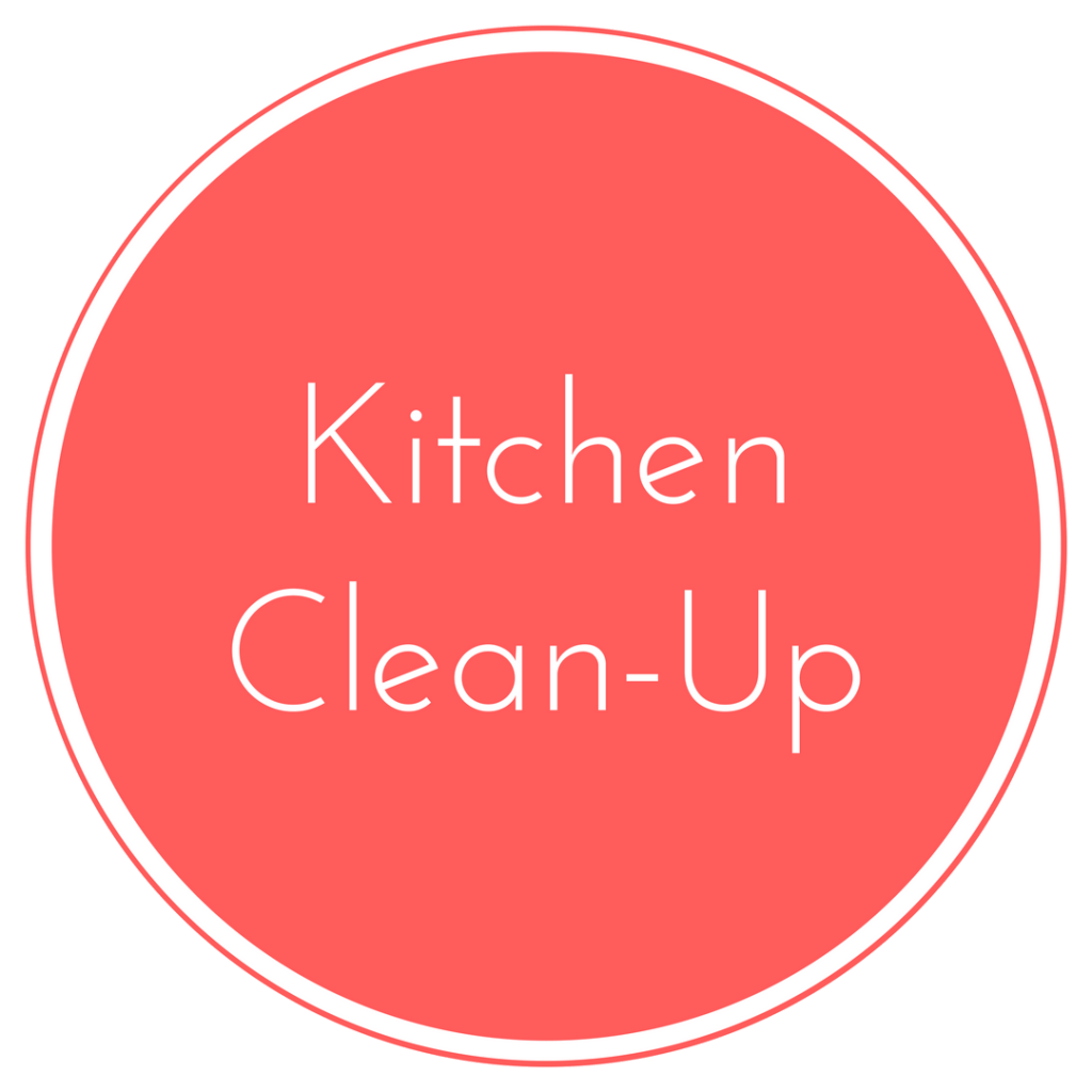 Kitchen Cleanup  Family Style Nutrition