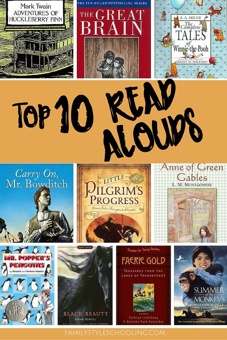 top 10 read alouds