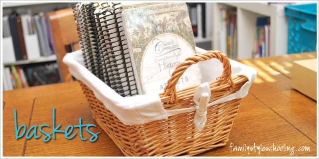 school room storage must haves baskets