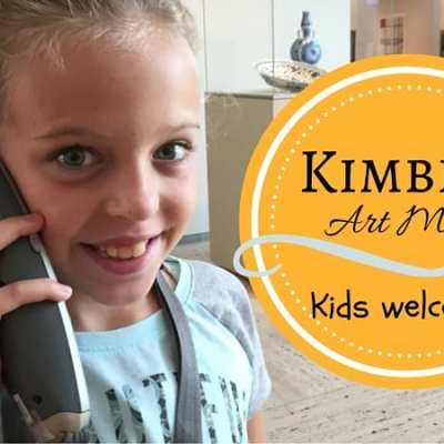 The Kimbell Art Museum: Family Friendly