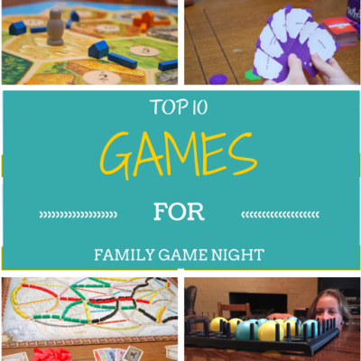 Top 10 Games for Family Game Night