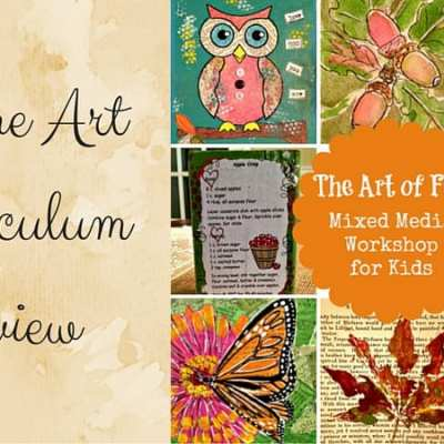 Art of Fall Mixed Media Workshop Review