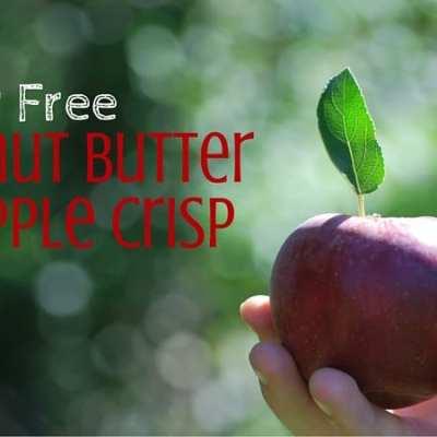 Sugar Free Peanut Butter & Apple Crisp