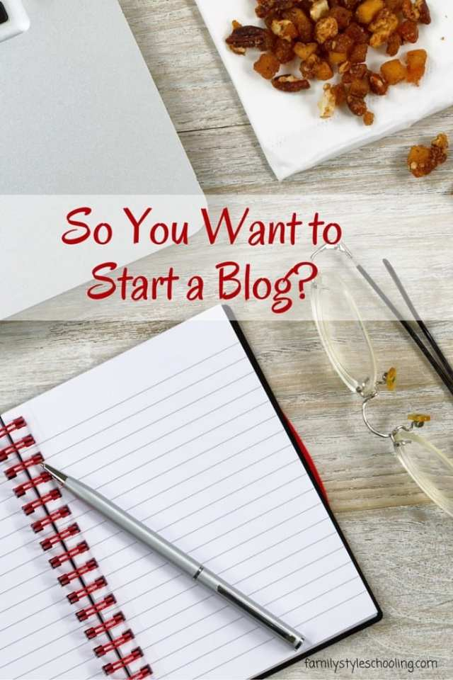 Where to start with your blog: earning a little income on the side while you write about what you love.