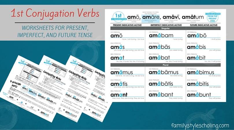 1st Conjugation Verbs (1)