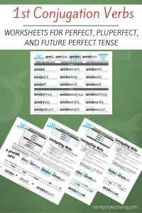 Latin Conjugations Perfect Tense