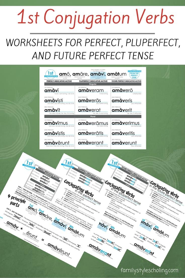 Latin Conjugations Perfect Tense