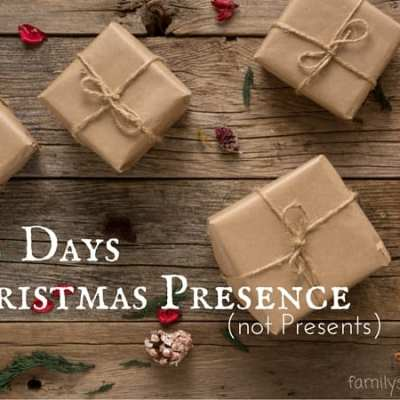 5 Days of Christmas Presence (not Presents)