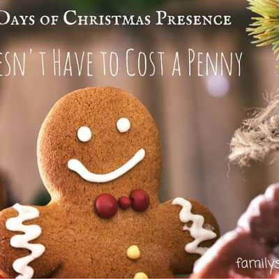 5 Days of Christmas: Doesn't Have to Cost a Penny