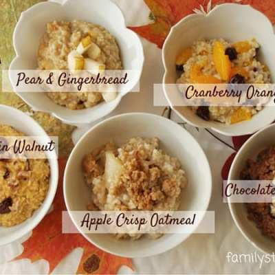 Fantastic Fall Flavors to Spice Up Your Oatmeal