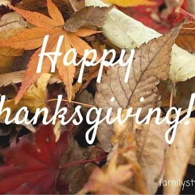 Thanksgiving – Day of Praise