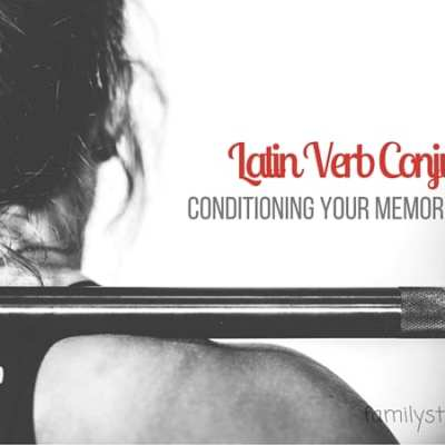 Latin Verb Conjugation Muscle Memory Conditioning
