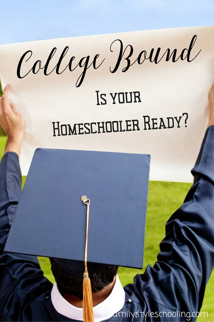 Tips for preparing your homeschooler for college
