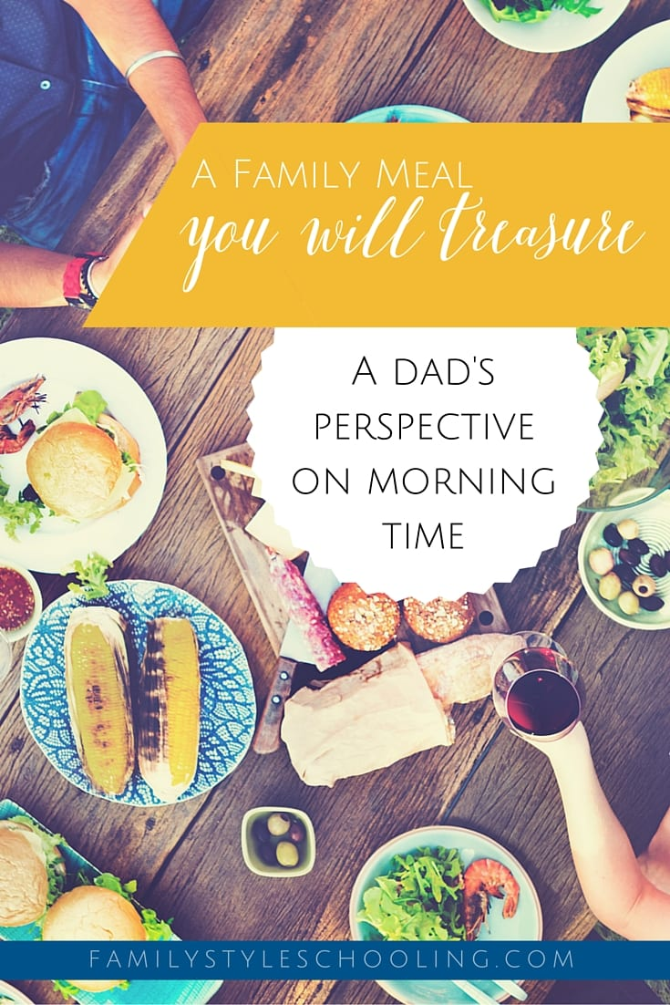 A dad's perspective on morning time