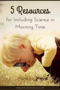 Science Morning Time