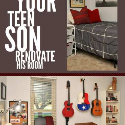 Helping Your Teen Son Renovate His Room