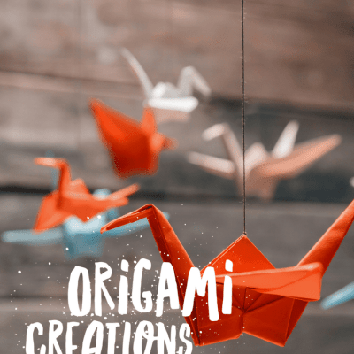 Origami Creations: Hands-On Learning Stations