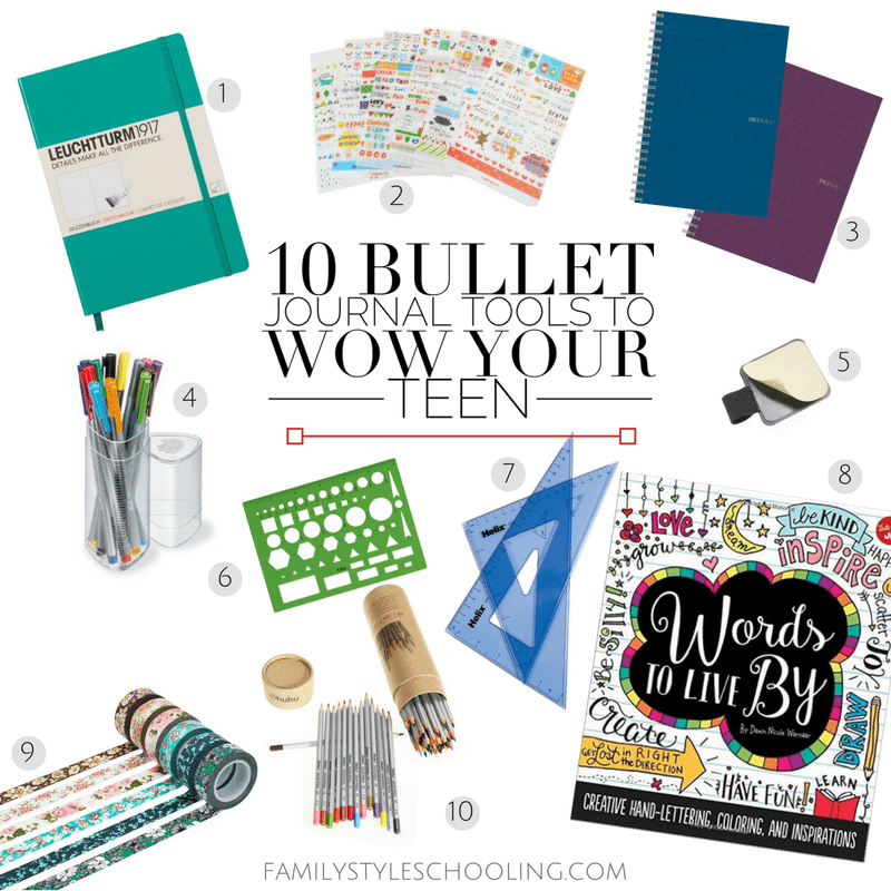 Bullet journal teen