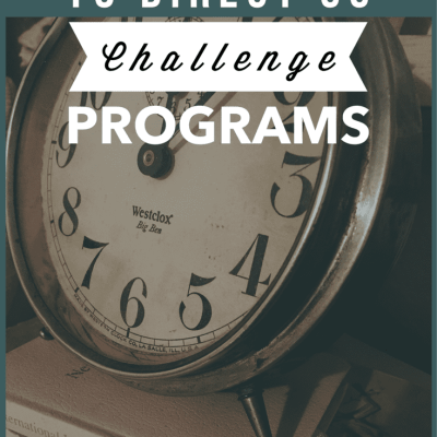 The Time it Takes to Direct CC Challenge Programs