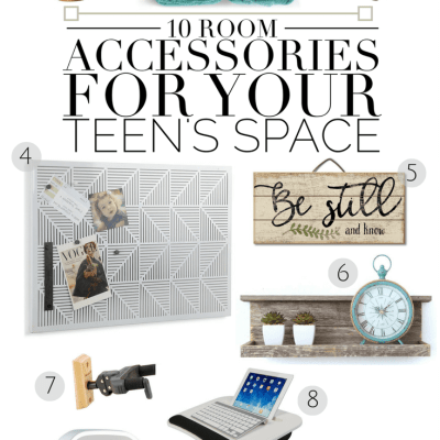 10 Room Accessories for Your Teen's Space