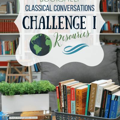 What's On My Bookshelf: Challenge I Resources