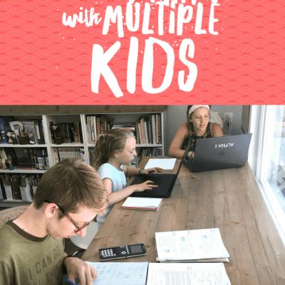 Simple Ways to Manage Math with Multiple Kids