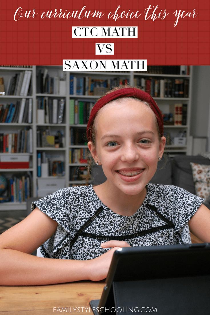 medium resolution of Math Curriculum: CTCMath v. Saxon - Family Style Schooling